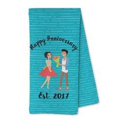 Happy Anniversary Microfiber Kitchen Towel (Personalized)