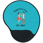 Happy Anniversary Mouse Pad with Wrist Support