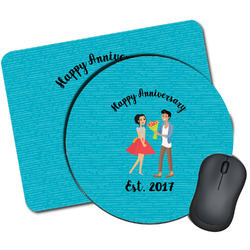 Happy Anniversary Mouse Pads (Personalized)