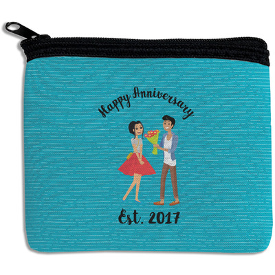 Happy Anniversary Rectangular Coin Purse (Personalized)