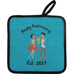 Happy Anniversary Pot Holder (Personalized)