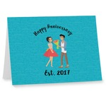 Happy Anniversary Note cards (Personalized)