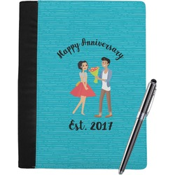 Happy Anniversary Notebook Padfolio (Personalized)