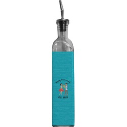 Happy Anniversary Oil Dispenser Bottle (Personalized)