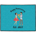 Happy Anniversary Door Mat (Personalized)