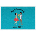 Happy Anniversary Laminated Placemat w/ Couple's Names