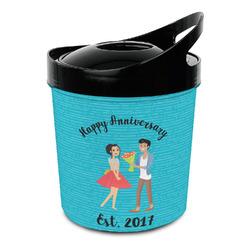 Happy Anniversary Plastic Ice Bucket (Personalized)