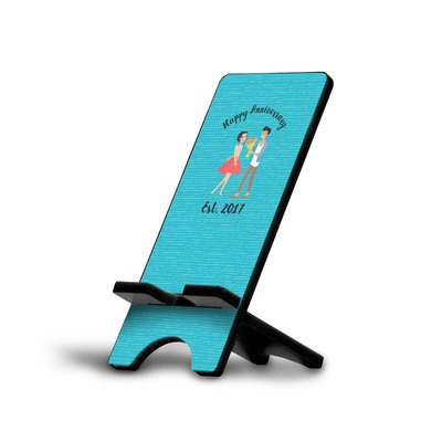 Happy Anniversary Cell Phone Stands (Personalized)