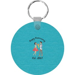 Happy Anniversary Keychains - FRP (Personalized)