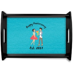 Happy Anniversary Wooden Trays (Personalized)
