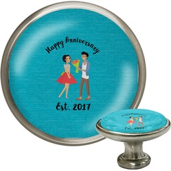 Happy Anniversary Cabinet Knobs (Personalized)