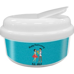 Happy Anniversary Snack Container (Personalized)