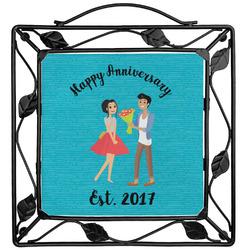 Happy Anniversary Trivet (Personalized)