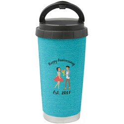 Happy Anniversary Stainless Steel Coffee Tumbler (Personalized)
