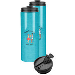 Happy Anniversary Stainless Steel Skinny Tumbler (Personalized)