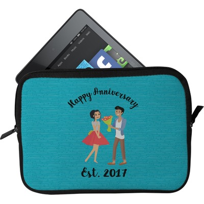 Happy Anniversary Tablet Case / Sleeve (Personalized)