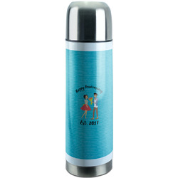 Happy Anniversary Stainless Steel Thermos (Personalized)