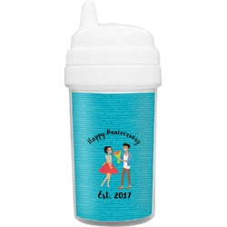 Happy Anniversary Sippy Cup (Personalized)