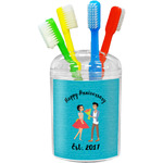 Happy Anniversary Toothbrush Holder (Personalized)