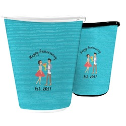 Happy Anniversary Waste Basket (Personalized)