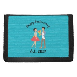 Happy Anniversary Trifold Wallet (Personalized)