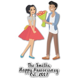 Happy Anniversary Graphic Decal - Custom Sized (Personalized)