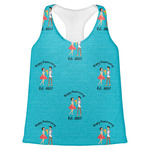 Happy Anniversary Womens Racerback Tank Top (Personalized)