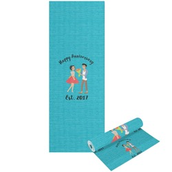 Happy Anniversary Yoga Mat - Printable Front and Back (Personalized)