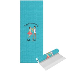 Happy Anniversary Yoga Mat - Printed Front (Personalized)