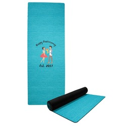 Happy Anniversary Yoga Mat (Personalized)