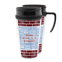 Housewarming Acrylic Travel Mugs (Personalized)