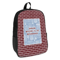 Housewarming Kids Backpack (Personalized)