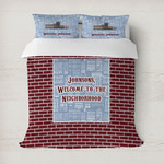 Housewarming Duvet Cover (Personalized)