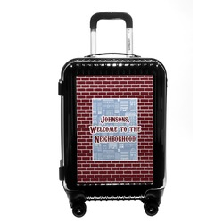 Housewarming Carry On Hard Shell Suitcase (Personalized)