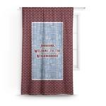 Housewarming Curtain (Personalized)