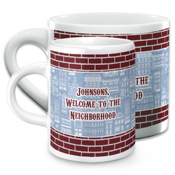 Housewarming Espresso Cups (Personalized)