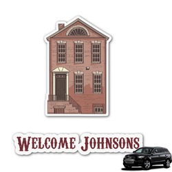 Housewarming Graphic Car Decal (Personalized)