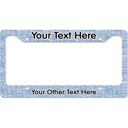 Housewarming License Plate Frame (Personalized)
