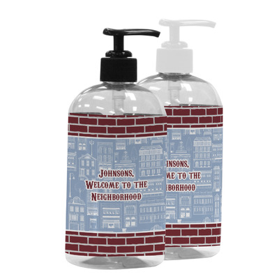 Housewarming Plastic Soap / Lotion Dispenser (Personalized)