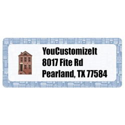 Housewarming Return Address Labels (Personalized)