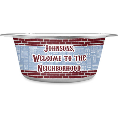 Housewarming Stainless Steel Dog Bowl (Personalized)