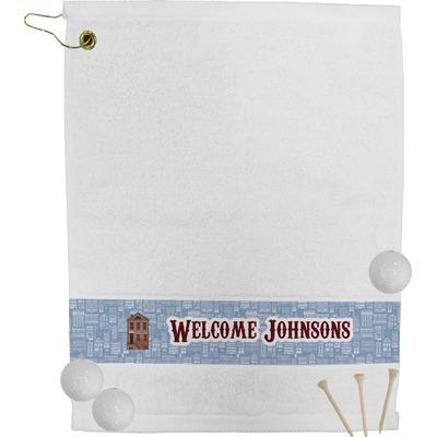 Housewarming Golf Bag Towel (Personalized)