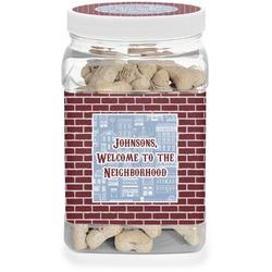 Housewarming Dog Treat Jar (Personalized)