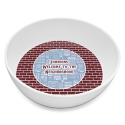 Housewarming Melamine Bowl 8oz (Personalized)