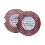 Housewarming Sandstone Car Coasters (Personalized)