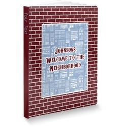 "Housewarming Softbound Notebook - 5.75"" x 8"" (Personalized)"