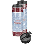 Housewarming Stainless Steel Skinny Tumbler (Personalized)