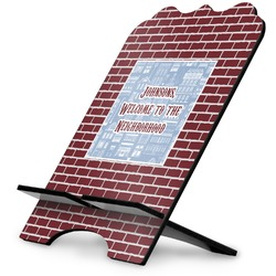 Housewarming Stylized Tablet Stand (Personalized)