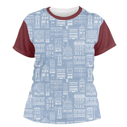 Housewarming Women's Crew T-Shirt (Personalized)