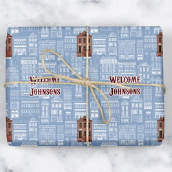 Housewarming Wrapping Paper (Personalized)